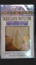 Clear  Heavy Duty Vinyl Plastic Table Protector   ( VARIOUS SIZES)