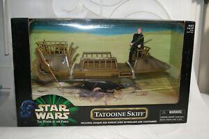 "Star Wars POTF ""Tatooine Skiff with Unique Luke Skywalker"" - NEW"