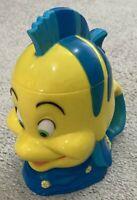 Disney On Ice Little Mermaid Flounder Cup 3D Mug Plastic With Flip Open Lid