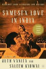 Same-Sex Love In India: Readings From Literature And History
