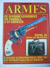l'amateur d'armes n° 22 LE 1 ER PISTOLET AMBIDEXTRE LE WALTHER P 88
