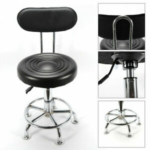 Height-Adjustable Swivel Work Shop Stool Chair Bench Hydraulic Garage Chair USA