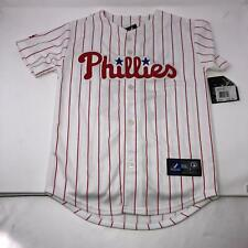 MLB Throwback Majestic Hamels Philadelphia Phillies #35 Jersey Youth Small