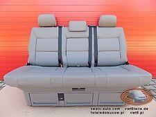 VW T5 Sitzbank Multivan Sitz Schlafbank Grey Grau Leder Leather seat bench