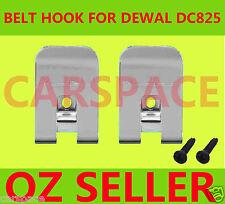 2Driver Belt Hooks Screw for Dewalt 18v battery DC825 DC827 DC820 DC845 DC823 OZ