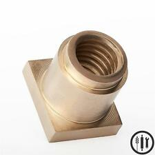 Hobart M802, V1401 Brass Bowl Lift Nut Replaces Hobart Part #68322, 80 qt,140 qt