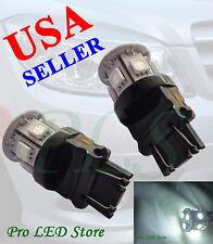 2x 7443 T20 Super White 9 SMD LED Turn Signal Reverse Backup Lights Bulbs