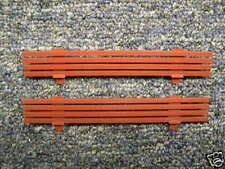 Pair American Flyer Tuscan Work Caboose Fences