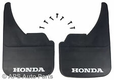 Universal Car Mudflaps Front Rear Honda Branded Civic CR-V CR-Z Mud Flap Guard