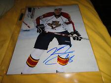 Florida Panthers Keaton Ellerby Autographed 8x10 COA