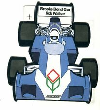 More details for surtees rob walker brooke bond oxo original sticker autocollant adhesivo