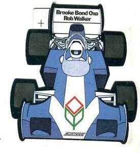 Surtees Rob Walker Brooke Bond Oxo original sticker autocollant adhesivo