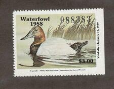 Mo10 - Missouri State Duck Stamp. Mnh. Og.