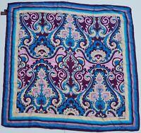 Foulard carré scarf dondup 100% silk soie pura seta original made in italy hand