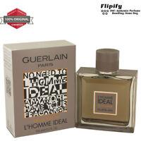 L'homme Ideal Cologne 3.3 oz 1.6 1.7 oz EDT EDP Spray for MEN by Guerlain