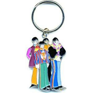 The Beatles Yellow Submarine Band Die-cast Metal Keyring - Music Gift