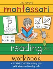 Montessori Reading Workbook: A Learn To Read. Paperback 2019 by Julia Palm.