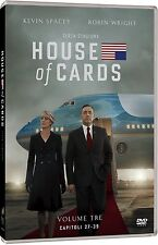 House of Cards - Stagione 3 (4 DVD) - ITALIANO ORIGINALE SIGILLATO -