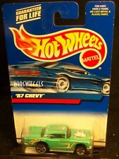 HOT WHEELS 2000 #105 -5 57 CHEVY FLAME TAMPO 57 BASE 00C