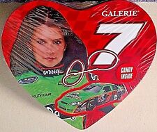 DANICA PATRICK '11 #7 VALENTINES HEART SHAPED COLLECTIBLE TIN W/CHERRY LOLLIPOPS