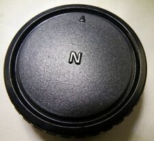Used N Rear Lens Cap for Nikon F lenses 18-55mm