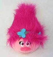 "Dreamworks Trolls Poppy Fuzzbie Plush Ball 11"" Stuffed Toy Pink Girl Imperial"