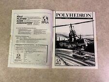 POLYHEDRON 1983 Issue 16 Volume 4 Number 1 RPGA Network TSR Newszine #T942