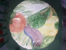 "Vietri Italy 13"" Vegetable Platter"