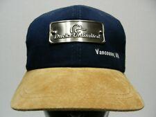 DUCKS UNLIMITED - VANCOUVER, WASHINGTON - ADJUSTABLE STRAPBACK BALL CAP HAT!