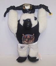 """D-Generation-X""  WWF Cuddletown Friends Gorilla Plush 18"" Action Figure {668}"