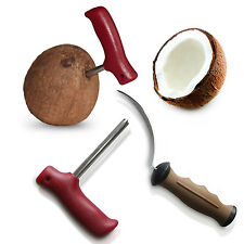 Coconut opener Bundle Coconut Drill, The Coconut Tool How to open a Coconut KIT