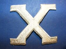 X  patch    FOUR DIFFERENT COLORS, YOUR CHOICE