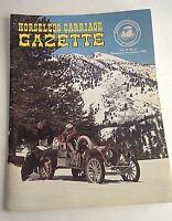 HORSELESS CARRIAGE GAZETTE PERIOD FASHION MAGAZINE NOVEMBER DECEMBER 1964