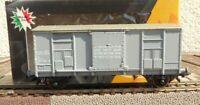 MGM 3003 S.R.L gedeckter Spitzdachwagen Güterwagen Va der FS Epoche 4 in OVP, AC