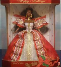Happy Holidays 1997 Special Ed. Barbie, African-American 10th Anniversary