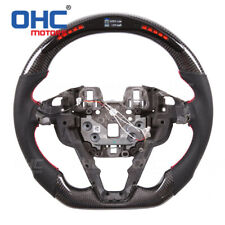 Real Carbon Fiber LED Steering Wheel for Ford Mondeo Fusion Edge