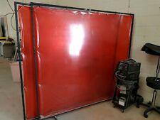Fully framed free standing welding screens $100ea
