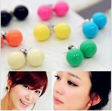 Wholesale Resale huge 50 pair lot hot fashion wild candy colored ball earrings