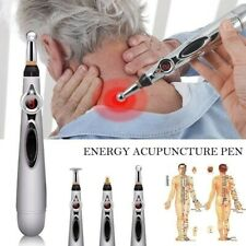 Electronic Acupuncture Pen Electric Meridians Laser Therapy Heal Massage Pen