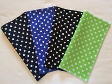 POLKA DOT SPOTS 100% COTTON – Top Pocket Square Hanky Handkerchief – Mods