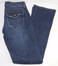 Guess Jeans DOHENY Women's Size 27 Blue Boot Cut Flap Pocket