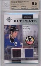 11/12 Upper Deck Ultimate Collection Wayne Gretzky Dual Jersey #'ed /100 BGS 9.5