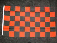 Red/Black check flag Man Utd Manchester United football 5x3 Football Team Banner