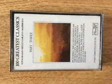 100 Greatest Classics Part Three Cassette used condition