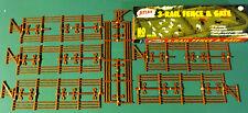 Atlas Three Rail Fence & SET 1/72 MIB