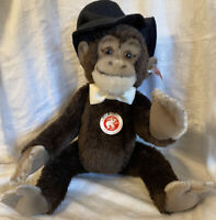 "ADORABLE Steiff Frederic The Chimpanzee Monkey EAN 034398 LE 129/1500 14"" 2014"
