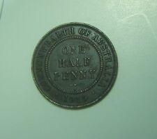1915 H Australian Half Penny,