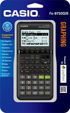 Casio Fx-9750Iii Graphing Calculator Algebra Calculus Finance - Black - New