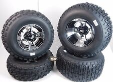 "New KAWASAKI KFX450R & KFX400 ITP SS112 Rims & MASSFX Tires Wheels 10"" kit"