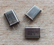 Horloge Cristal 4.433619 MHz hc18 Pack de 3 Z1436